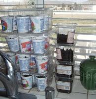 extending a short growing season with mini-grenhouses