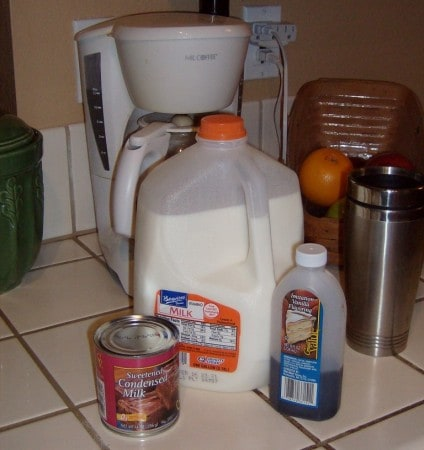 Homemade French Vanilla Coffee Creamer Recipe