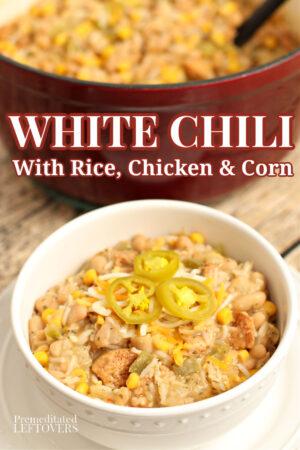 homemade white chili recipe