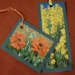 Use junk mail to create gift tags and bookmarks