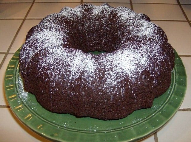 Easy Triple Chocolate Bundt Cake Recipe