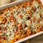 Pasta Bake Recipe with Spaghetti Sauce