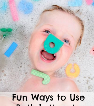 Fun Ways to Use Bath Letters to Teach the Alphabet
