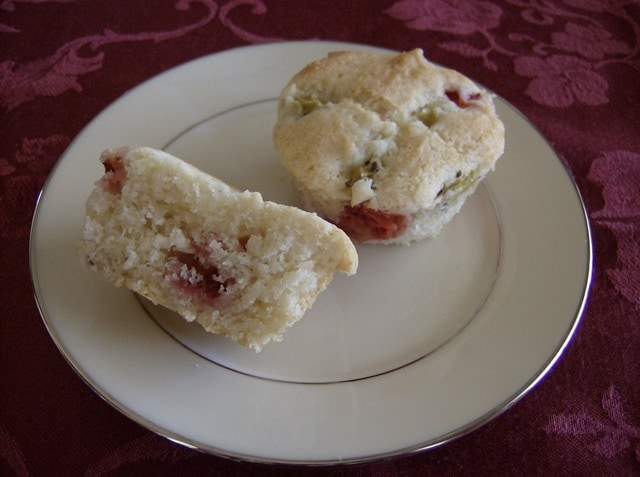 Gluten Free Strawberry Kiwi Muffins