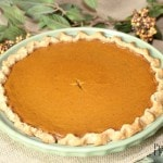 The best pumpkin pie recipe ever! It is an easy & delicious pumpkin pie recipe and it turns out perfectly each time.