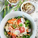 Quick and Easy Asian Chicken Salad Recipe