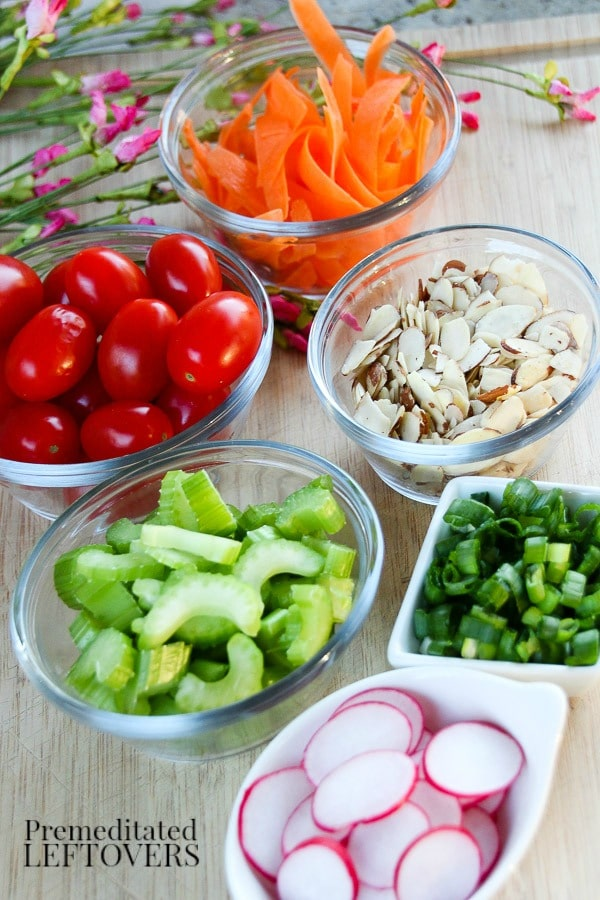 Asian Chicken Salad Recipe Ingredients
