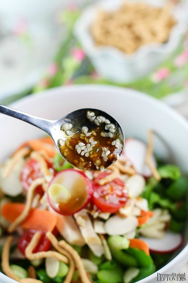 Asian Chicken Salad Recipe with Asian Salad Dressing Recipe