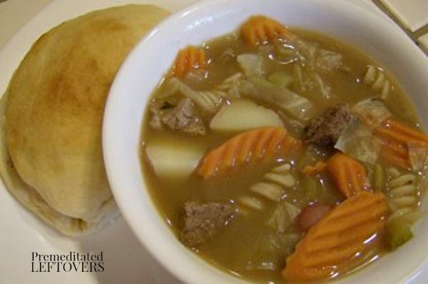 Beef Stew Recipe with Cabbage