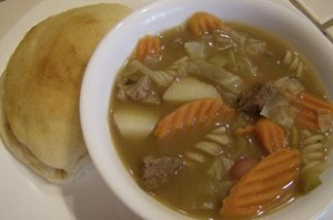 Beef Stew with Cabbage Recipe