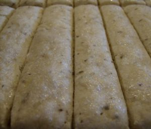 Gluten Free Herbed Bread Sticks