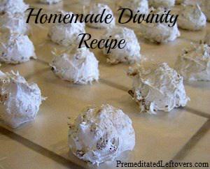 Homemade Divinity Recipe