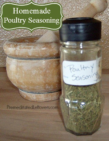 Homemade Poultry Seasoning Spice Mix