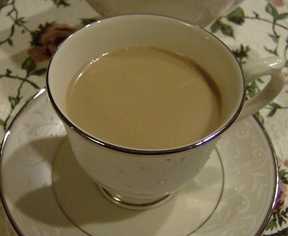 Homemade Chai Latte Recipe using ground spices
