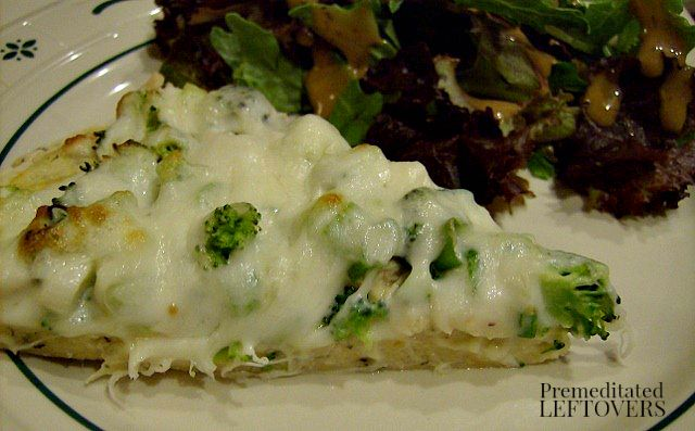 Chicken Alfredo Pizza Recipe With Broccoli