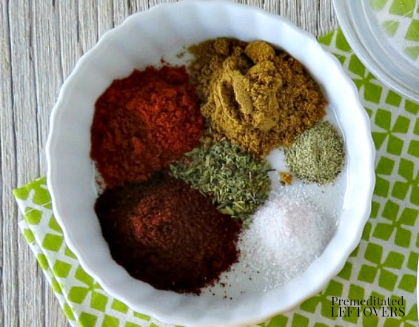 Homemade Taco Seasoning Spice Mix Recipe