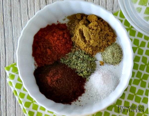 Homemade Taco Seasoning Spice Mix Recipe