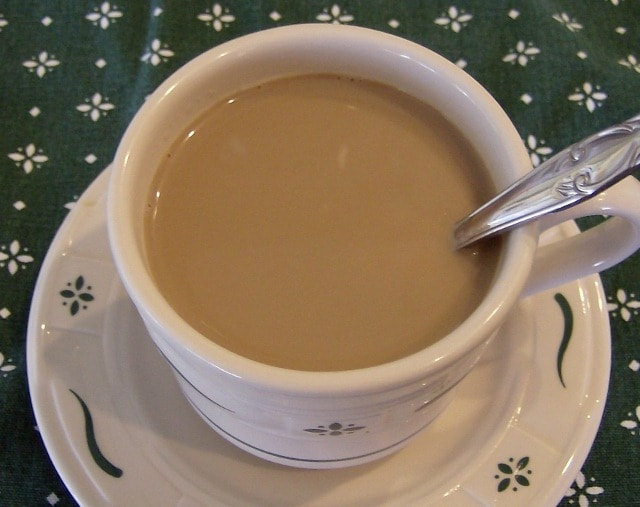 A Quick and Easy French Vanilla Coffee Creamer Recipe that you can make at home. This is a frugal option to purchasing processed creamer. Just 3 ingredients!