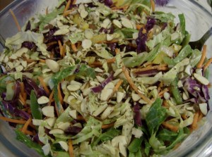 Asian Coleslaw Recipe gluten-free