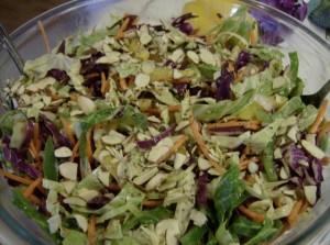 Asian coleslaw - naturally gluten-free recipe