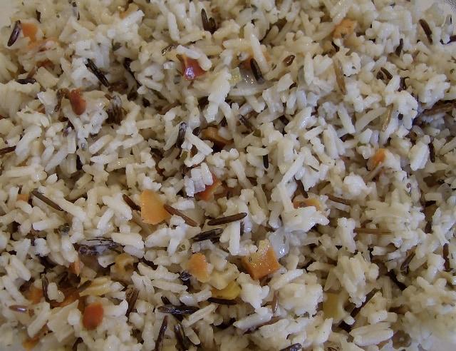 Basmati Rice with Onion and Garlic