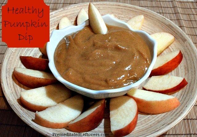Healthy Pumpkin Dip Recipe