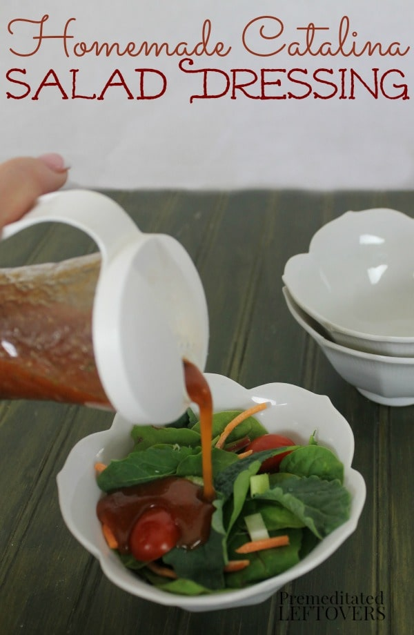 Have you wondered how to make homemade Catalina dressing? Try this quick and easy Homemade Catalina Dressing recipe!