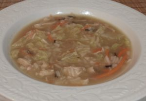 Asian Chicken and Rice Soup Recipe