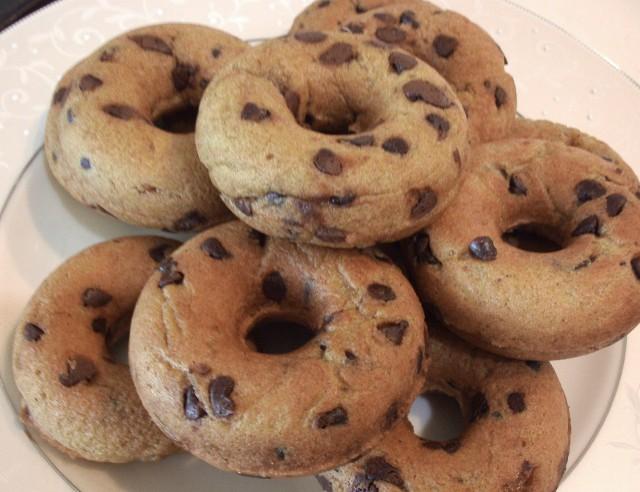 Gluten-Free Pumpkin Chocolate Chip Donuts