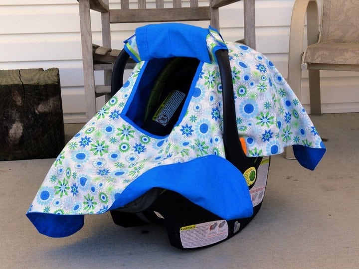 S and S Styles: Car Seat Canopy