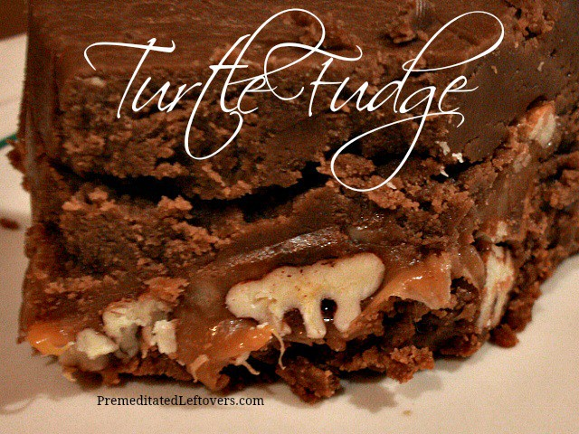 Turtle Fudge Recipe