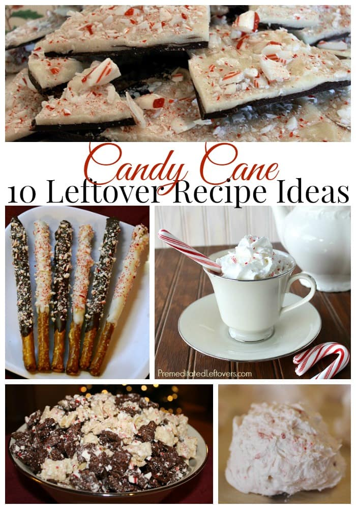 10 Leftover Candy Canes Recipes - Delicious ideas for using up leftover candy canes in dessert and snack recipes to create unique peppermint treats.