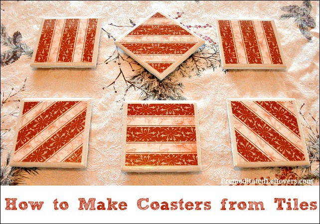 DIY - How to Make Coasters with Tiles