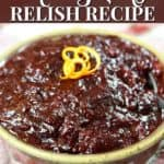 homemade cranberry-orange sauce recipe