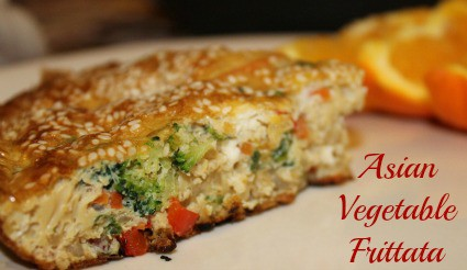 Asian-Vegetable-and-Rice-Frittata-Recipe