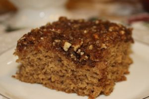 Chai spiced Coffee Cake gluten-free dairy-free