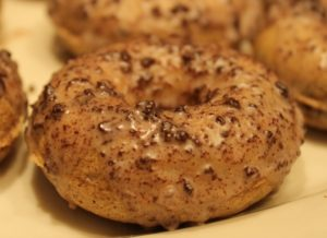 Cookies and Cream Doughnut gluten-free recipe