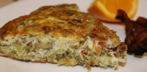 Hashbrown and Bacon Frittata Recipe