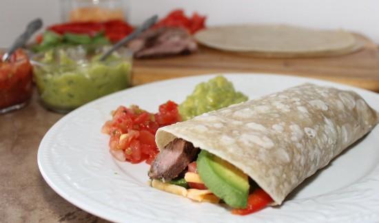 Southwest Steak and Avocado Wrap Recipe