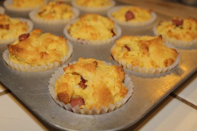 Gluten-Free Corndog Muffin Recipe (640x427)
