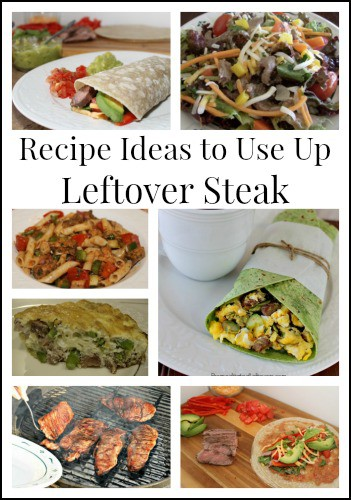 Recipe ideas to use up leftover steak