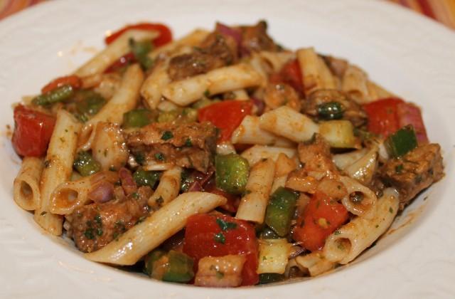 Steak and Pasta Salad Recipe