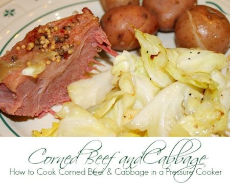 How to Cook Corned Beef in a Pressure Cooker or Instant Pot
