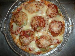 Spaghetti Squash Pie Recipe - A healthier version of spaghetti pie made with spaghetti squash. This easy recipe is delicious and naturally gluten-free