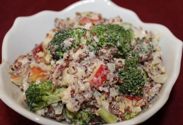 Broccoli and Quinoa Salad Recipe