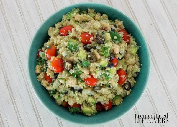 Easy Quinoa and Avocado Salad Recipe