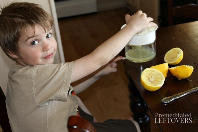 Homemade Lemonade Recipe - tips for how to make lemonade from scratch.