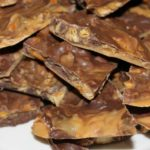 Peanut butter bark with pretzels recipe and gluten-free option (640x441)