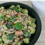 Quick and Easy Broccoli Quinoa Salad Recipe