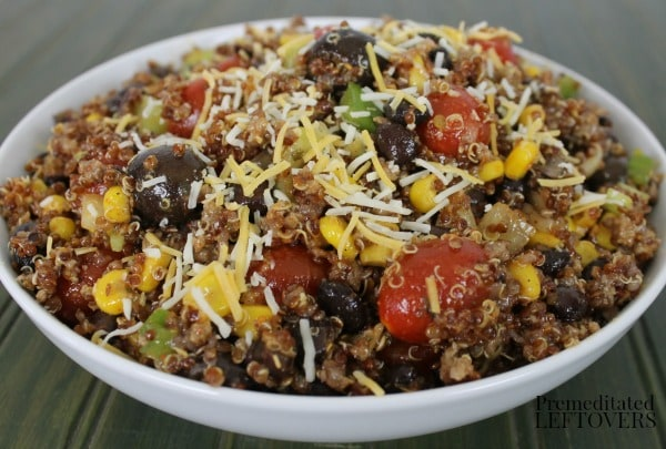 Quick and Easy Southwest Quinoa Salad Recipe